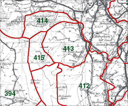 Musbury Map