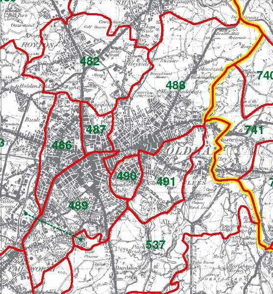Oldham Map