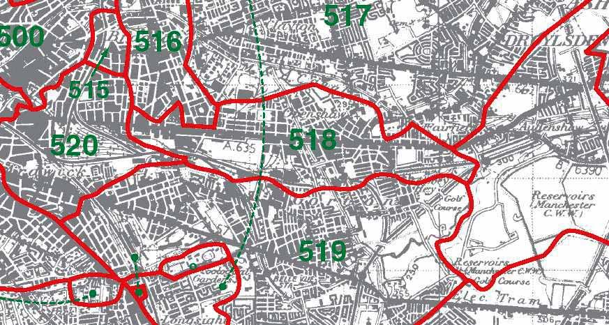 Openshaw Map