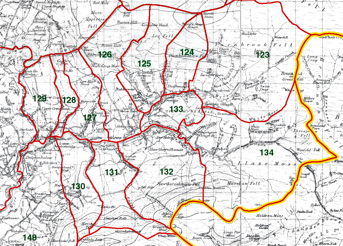 OverWyresdale Map