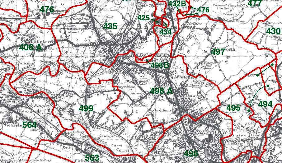 Pilkington Map