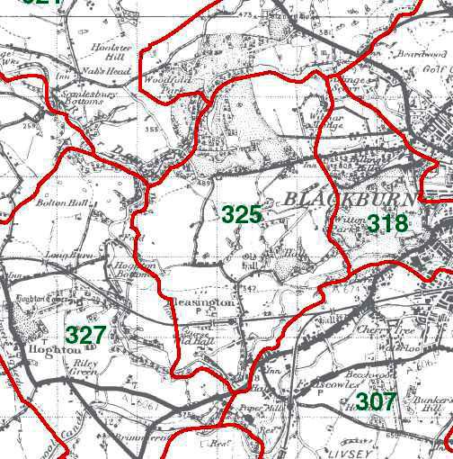 Pleasington Map
