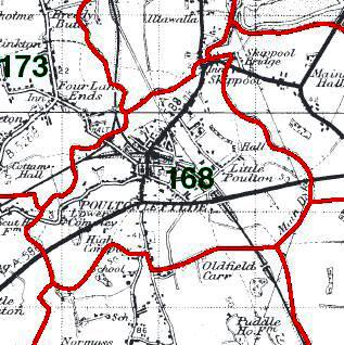Poulton-le-Fylde Map