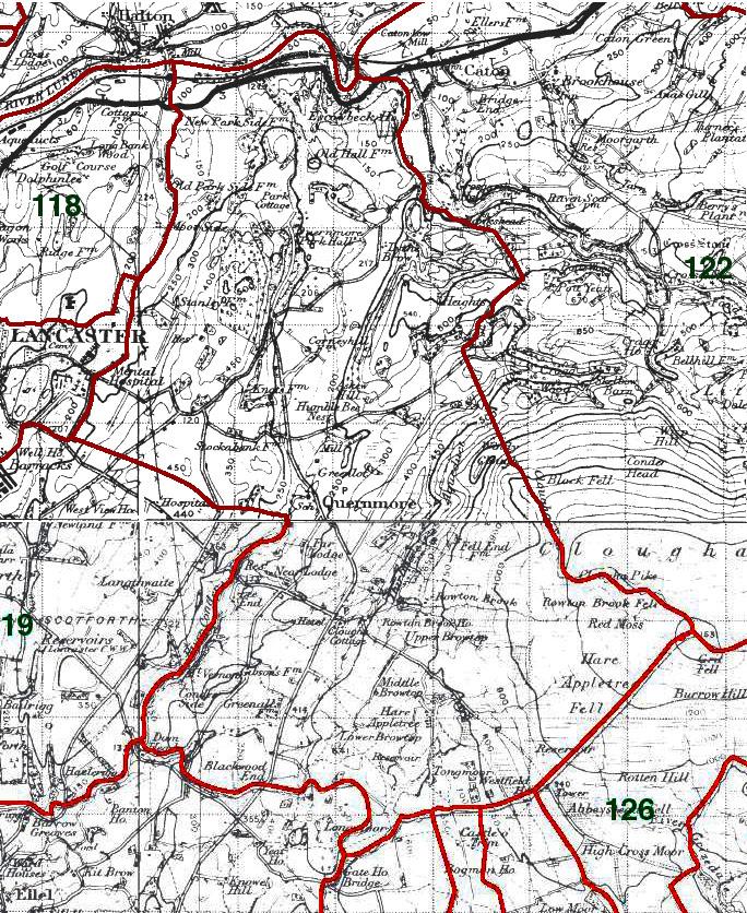 Quernmore Map