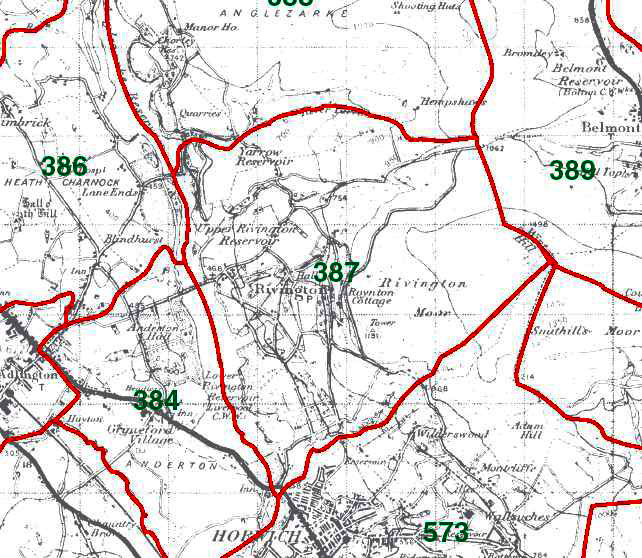 Rivington Map