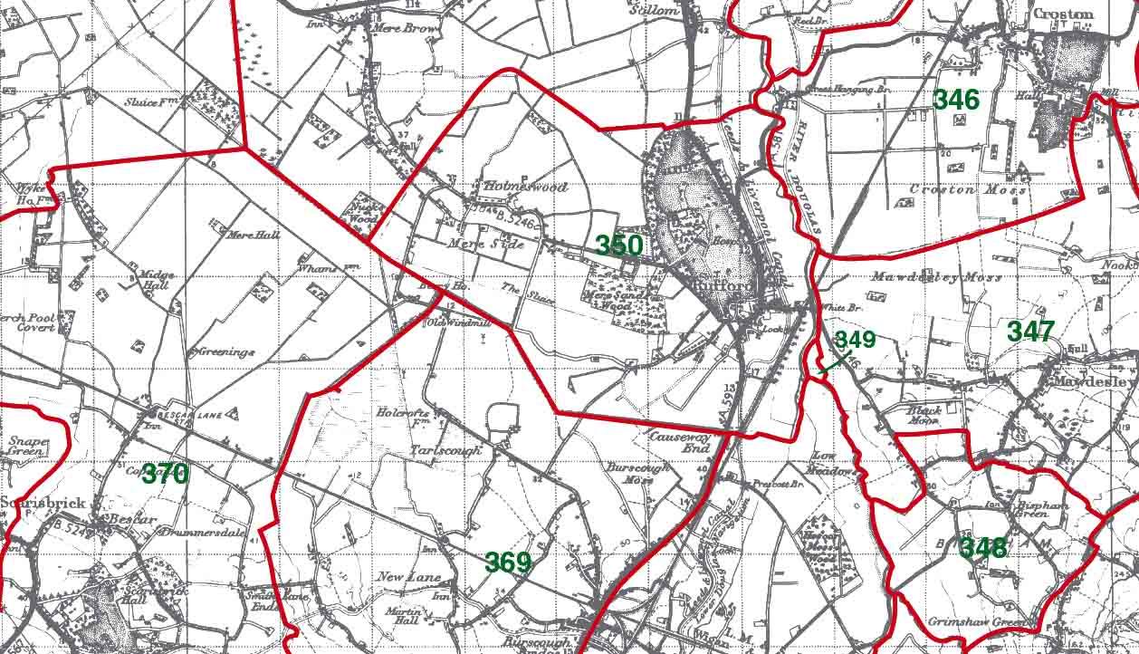 Rufford Map