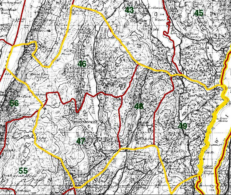 Satterthwaite Map