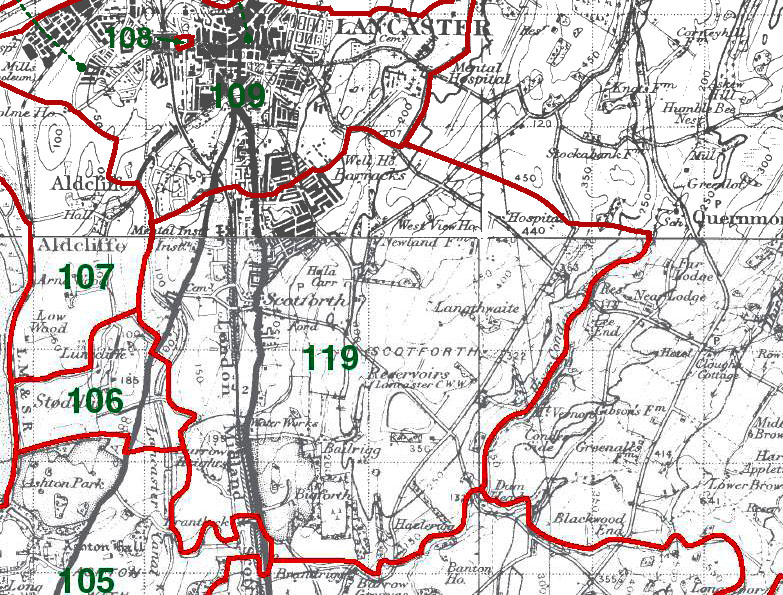 Scotforth Map