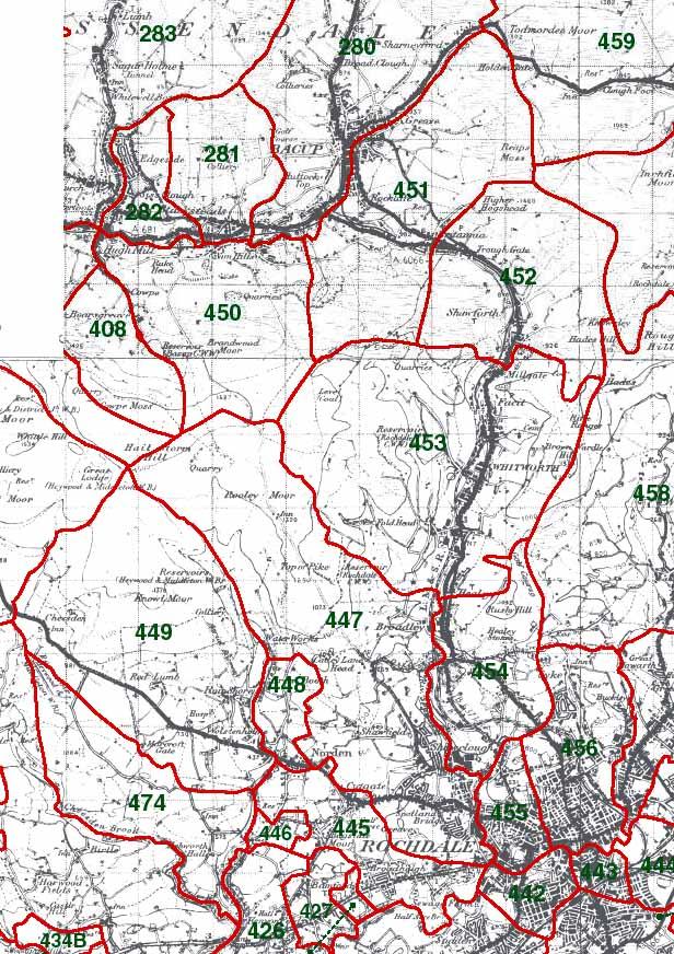 Spotland Map