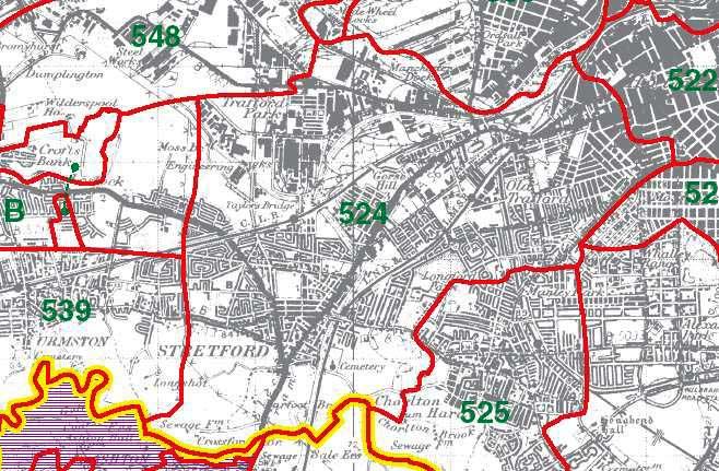 Stretford Map