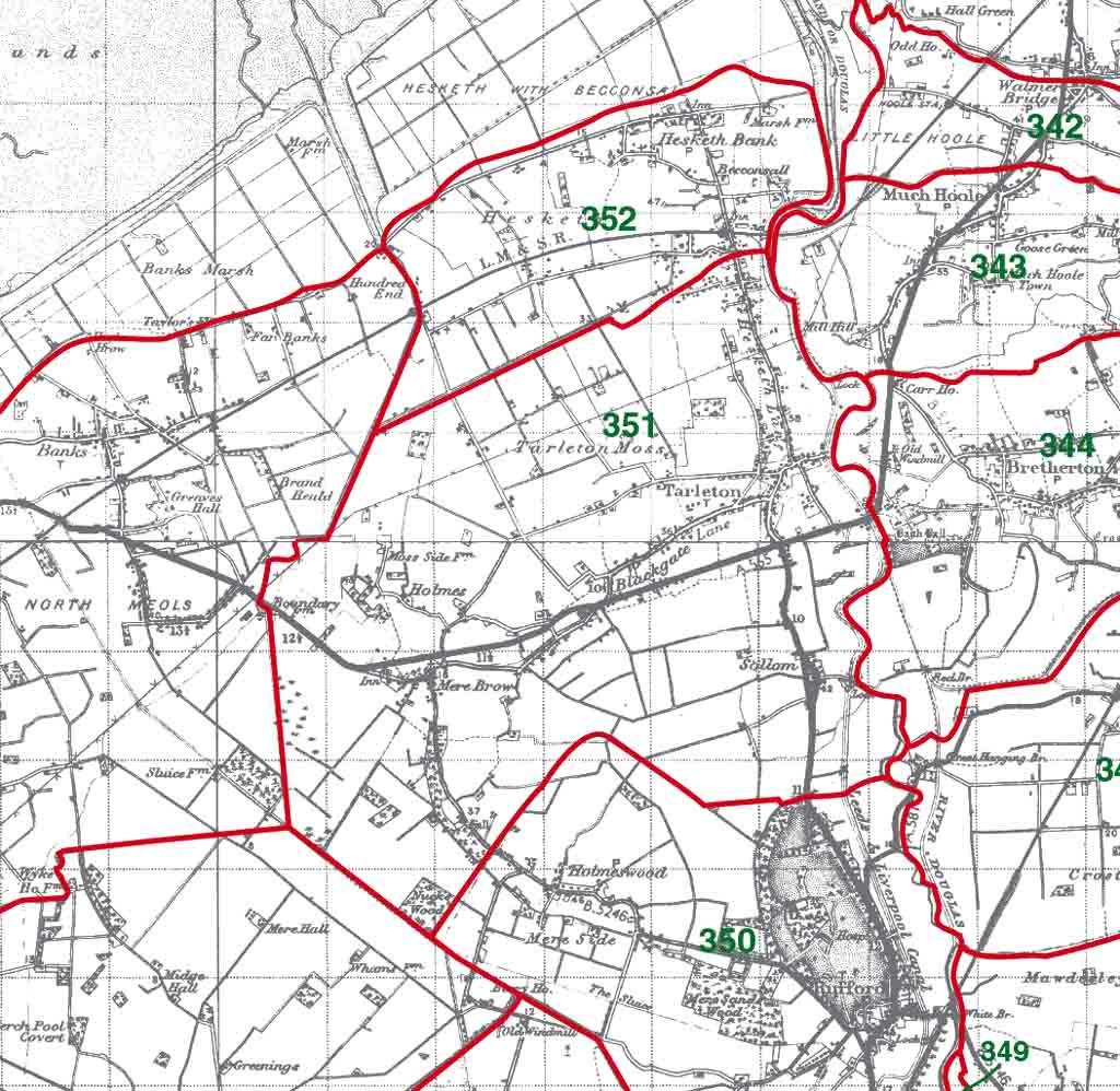 Tarleton Map