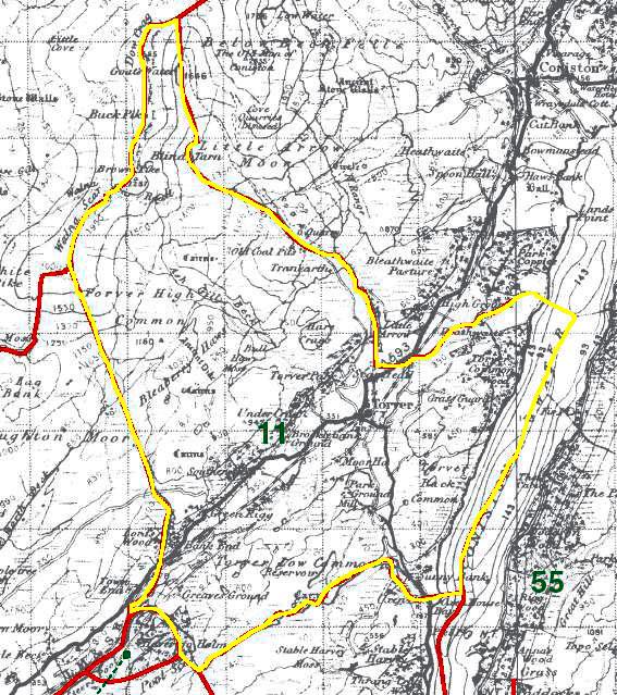 Torver Map