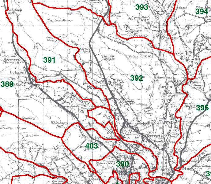Turton Map