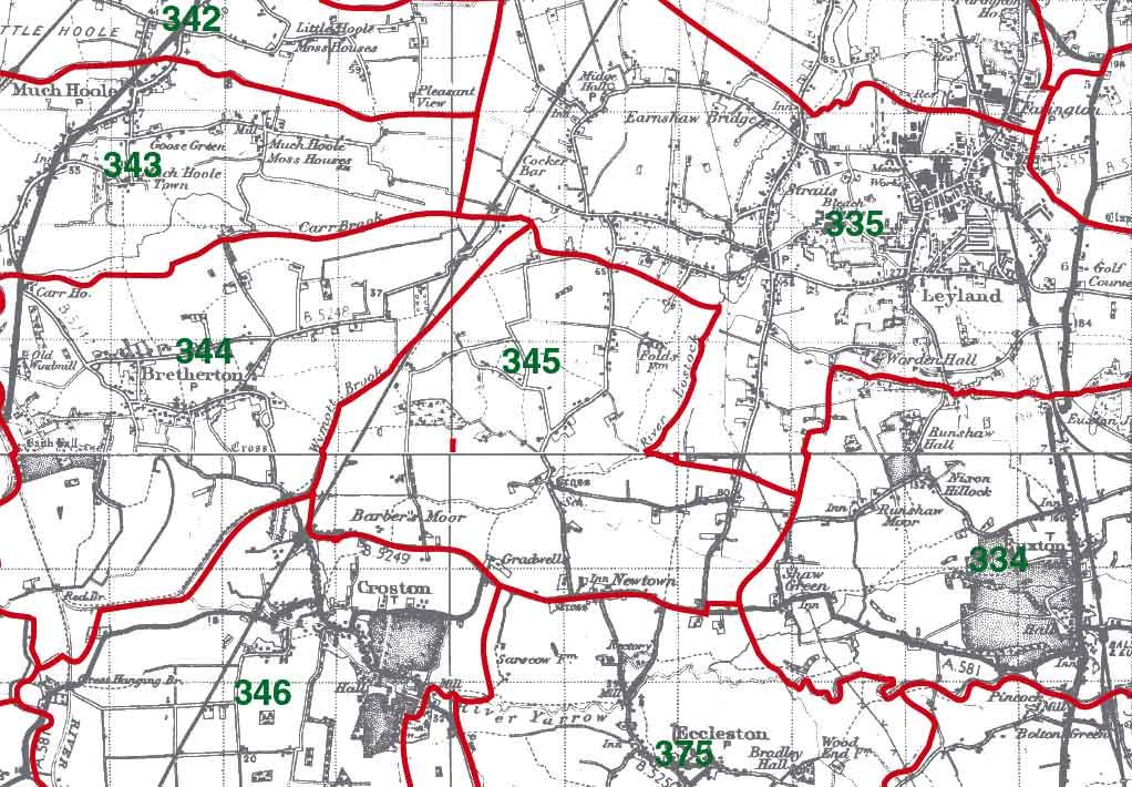 Ulnes Walton Map