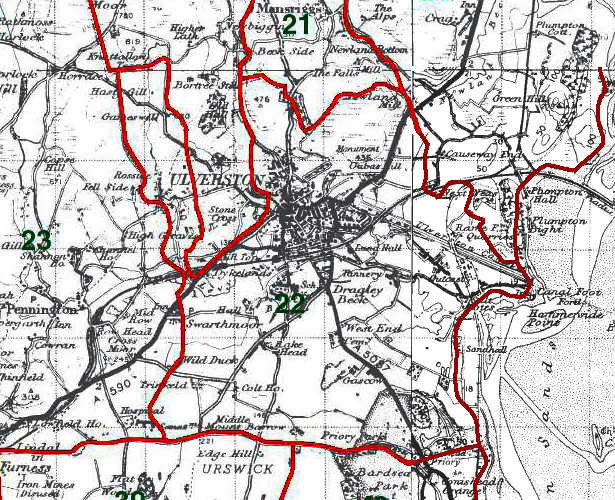 Ulverston Map