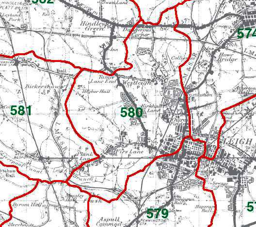 Westleigh Map