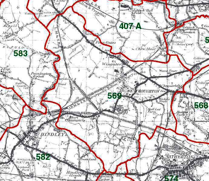 Westhoughton Map