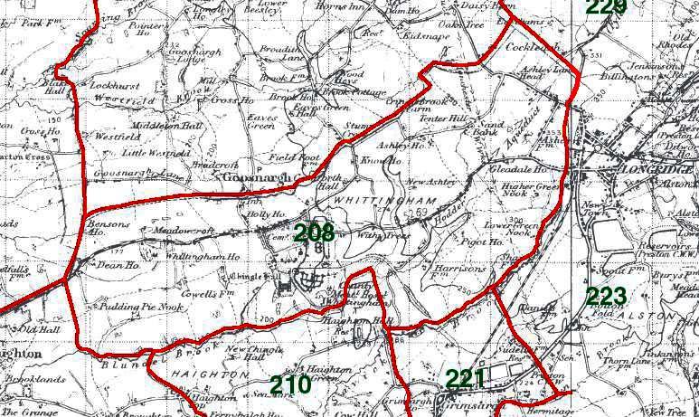 Whittingham Map
