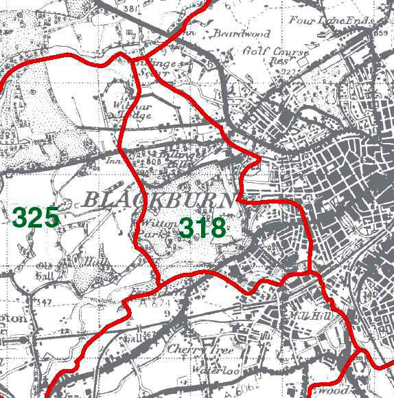 Witton Map
