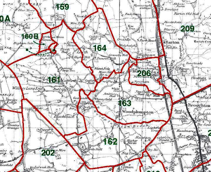 Woodplumpton Map