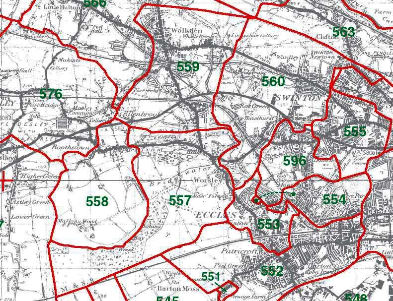 Worsley Map