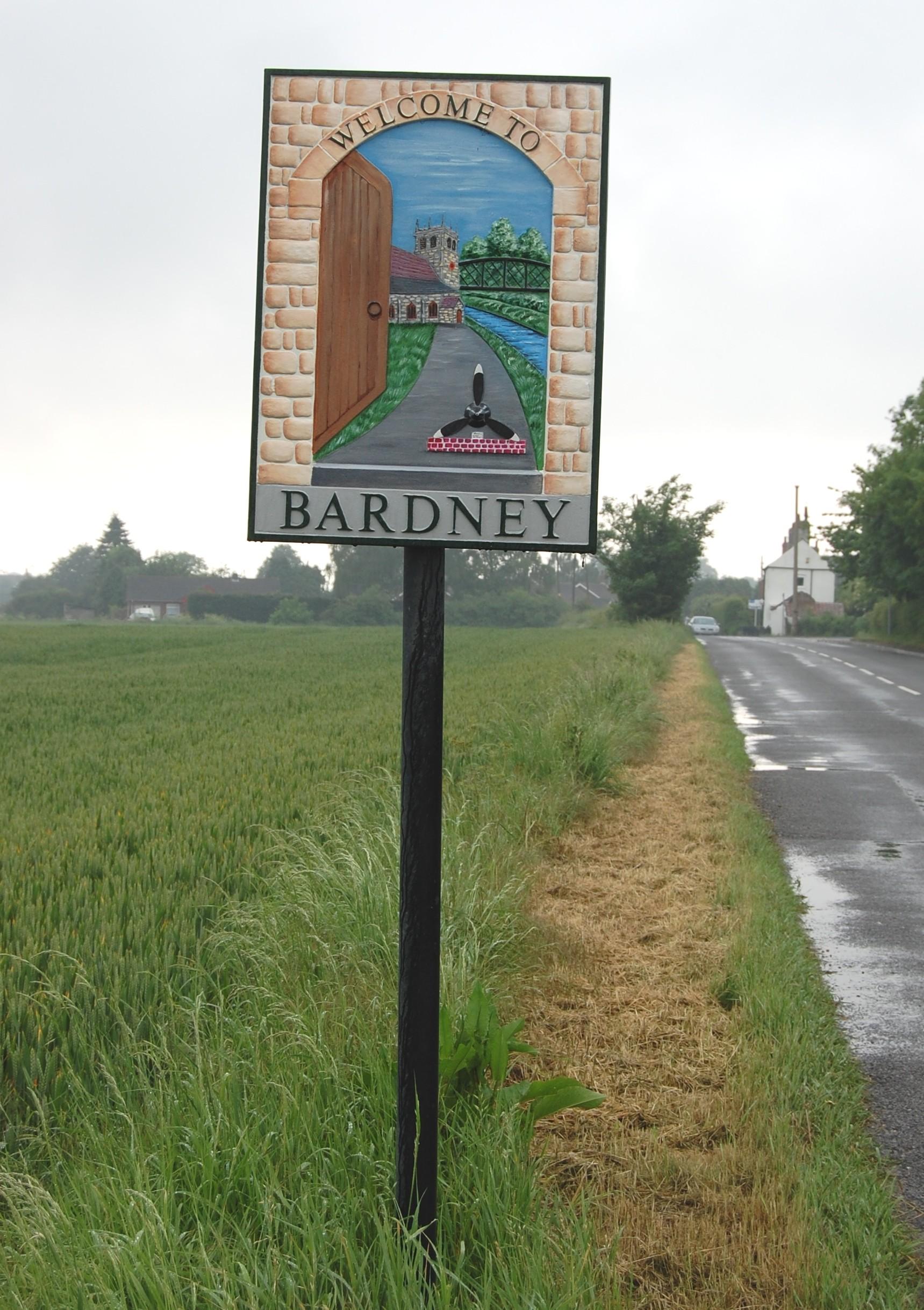 Bardney village sign