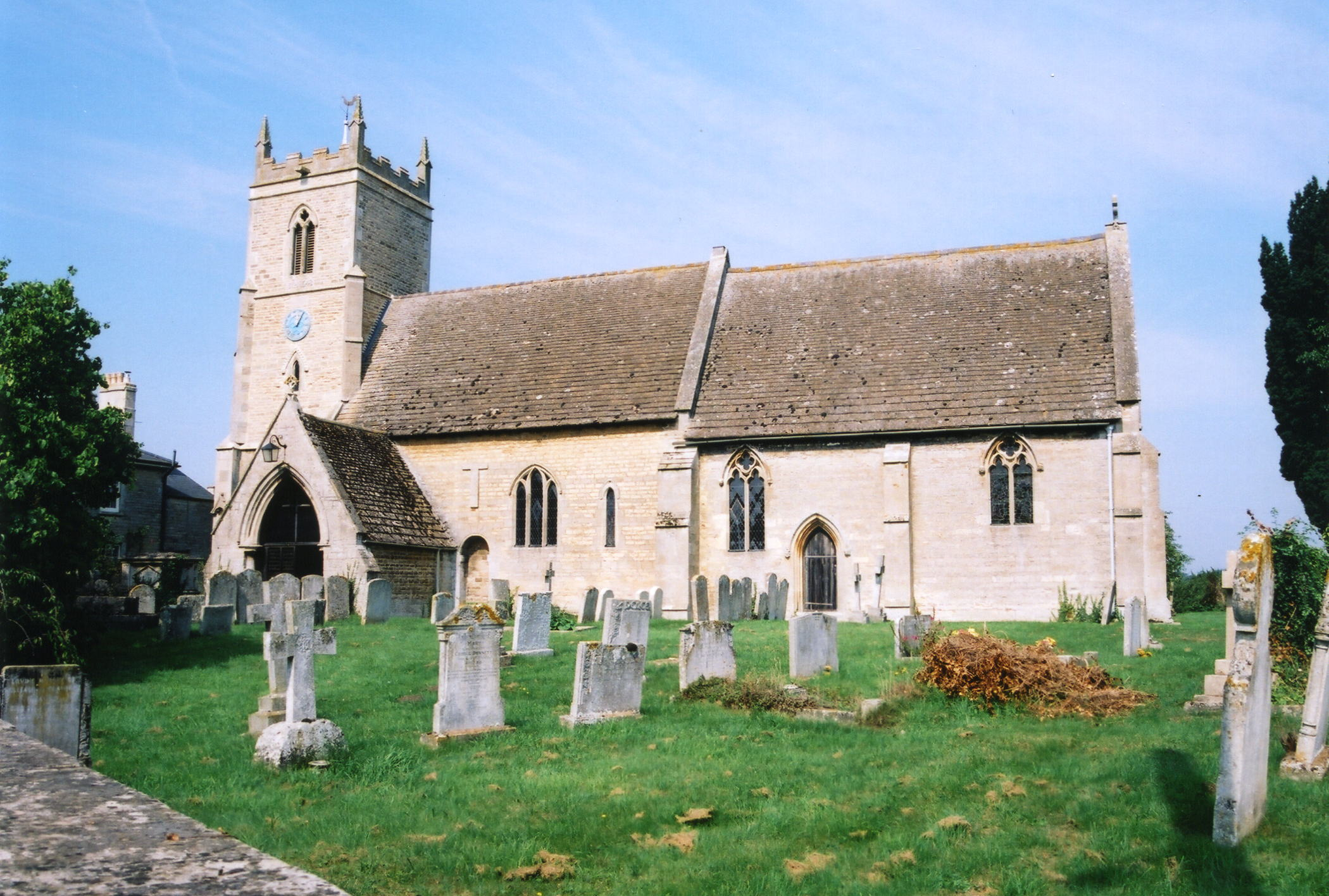 Barholm St. Martin's parish church