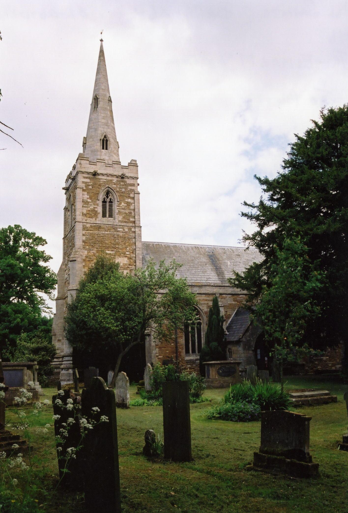 Barrowby All Saints parish church