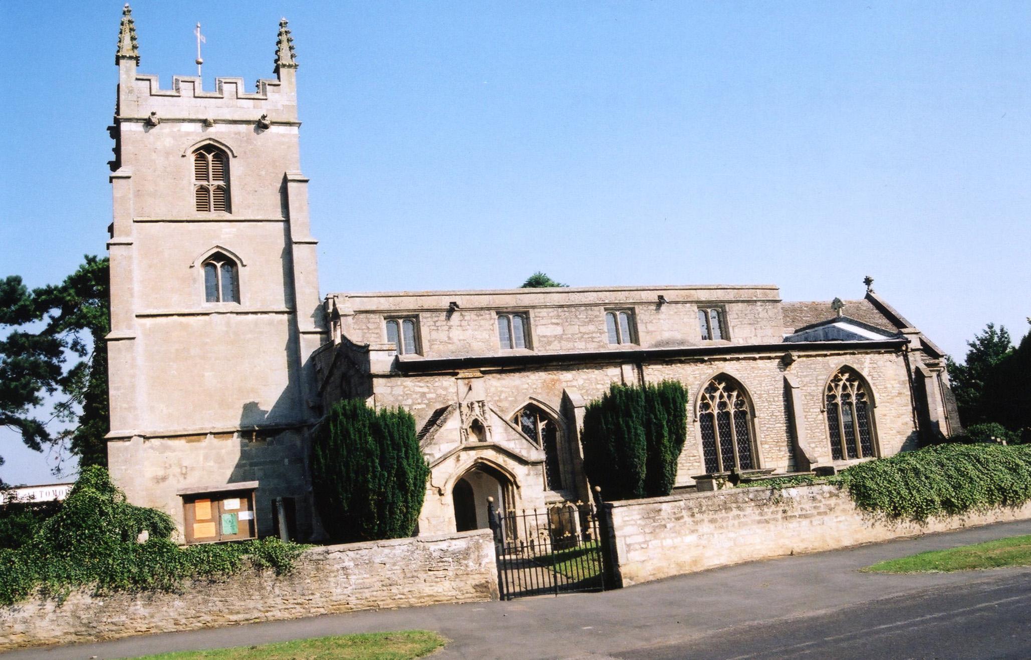 Baston St. John church