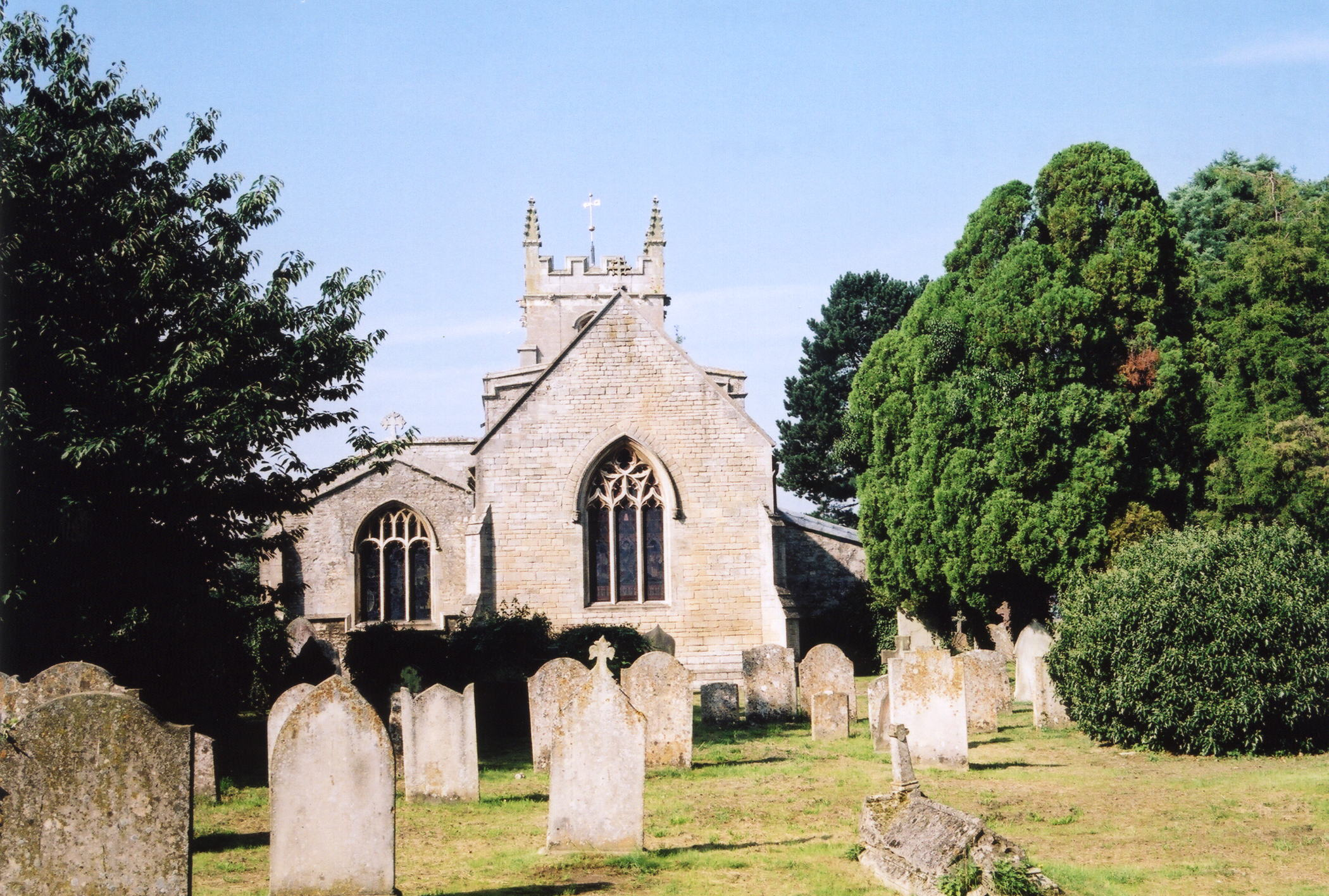 Baston St. John church