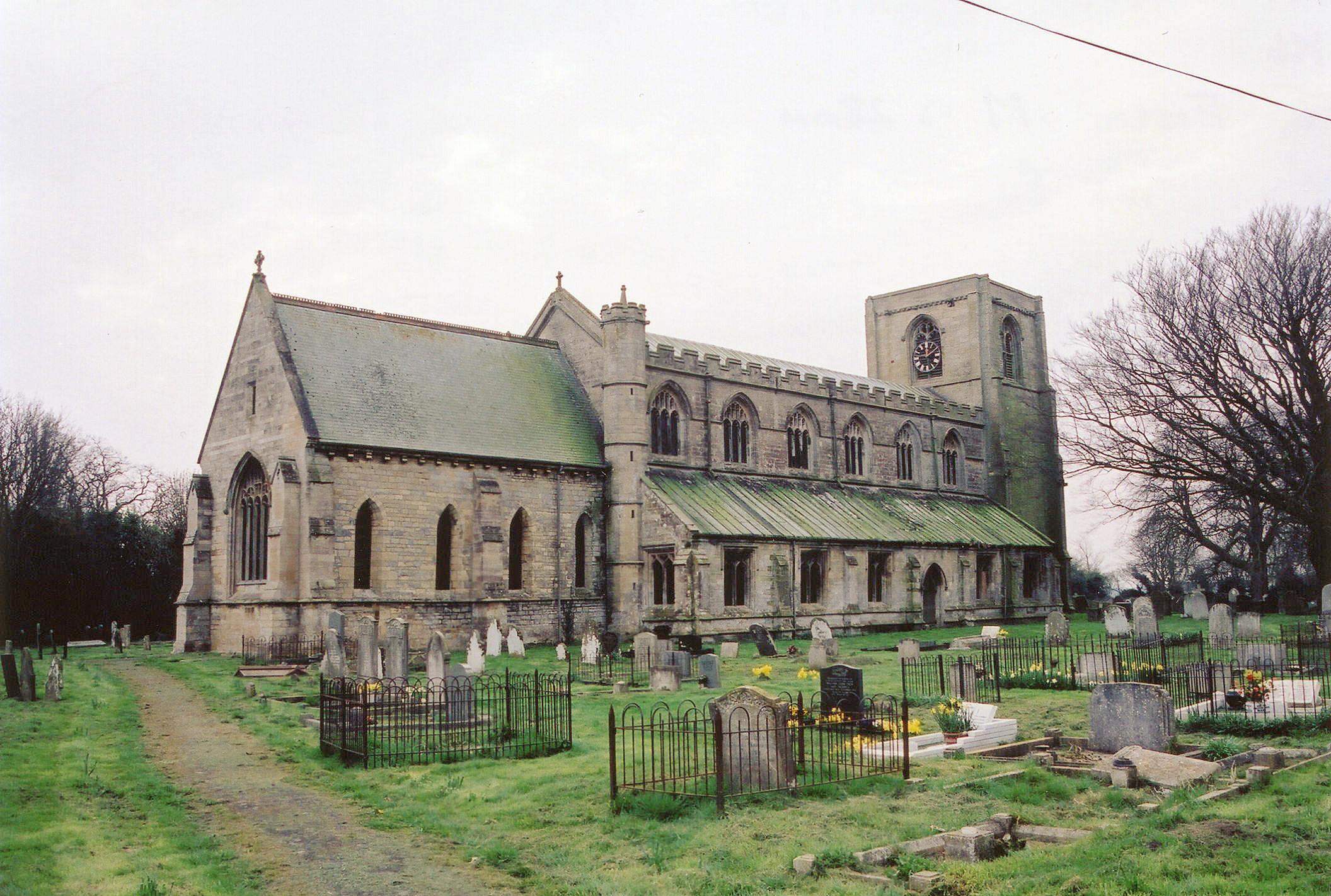 Benington All Saints church