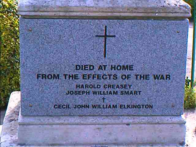 Died plaque
