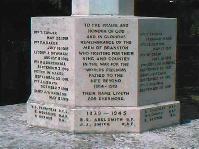Memorial side 1