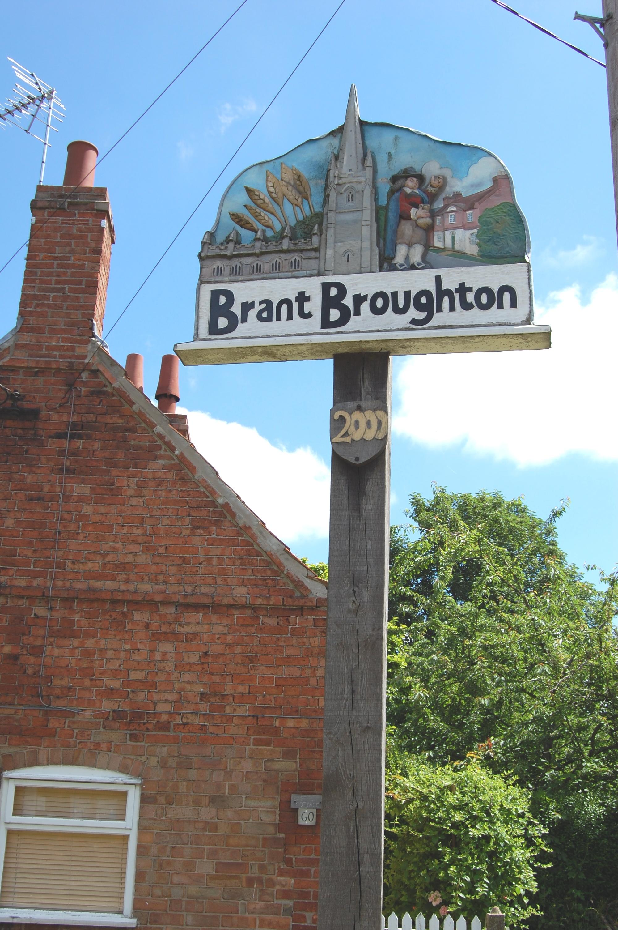 Brant village sign