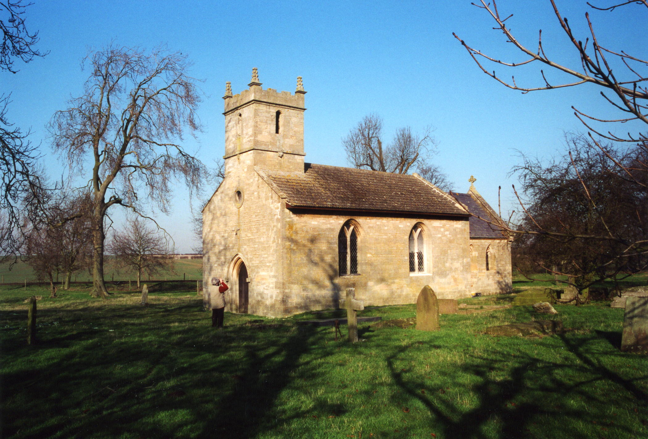 Brauncewell All Saints parish church