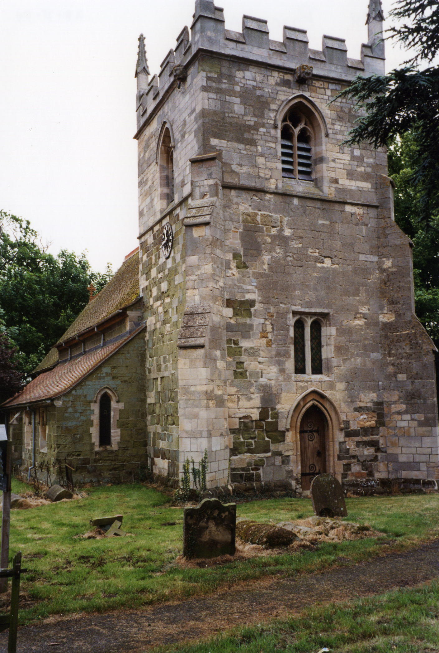 Bucknall St. Margaret parish church