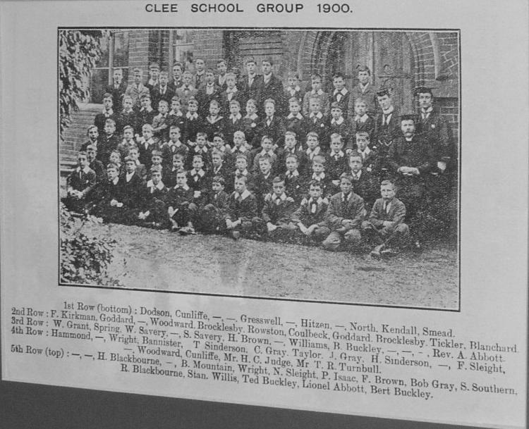 Matthew Humberston 1900 class