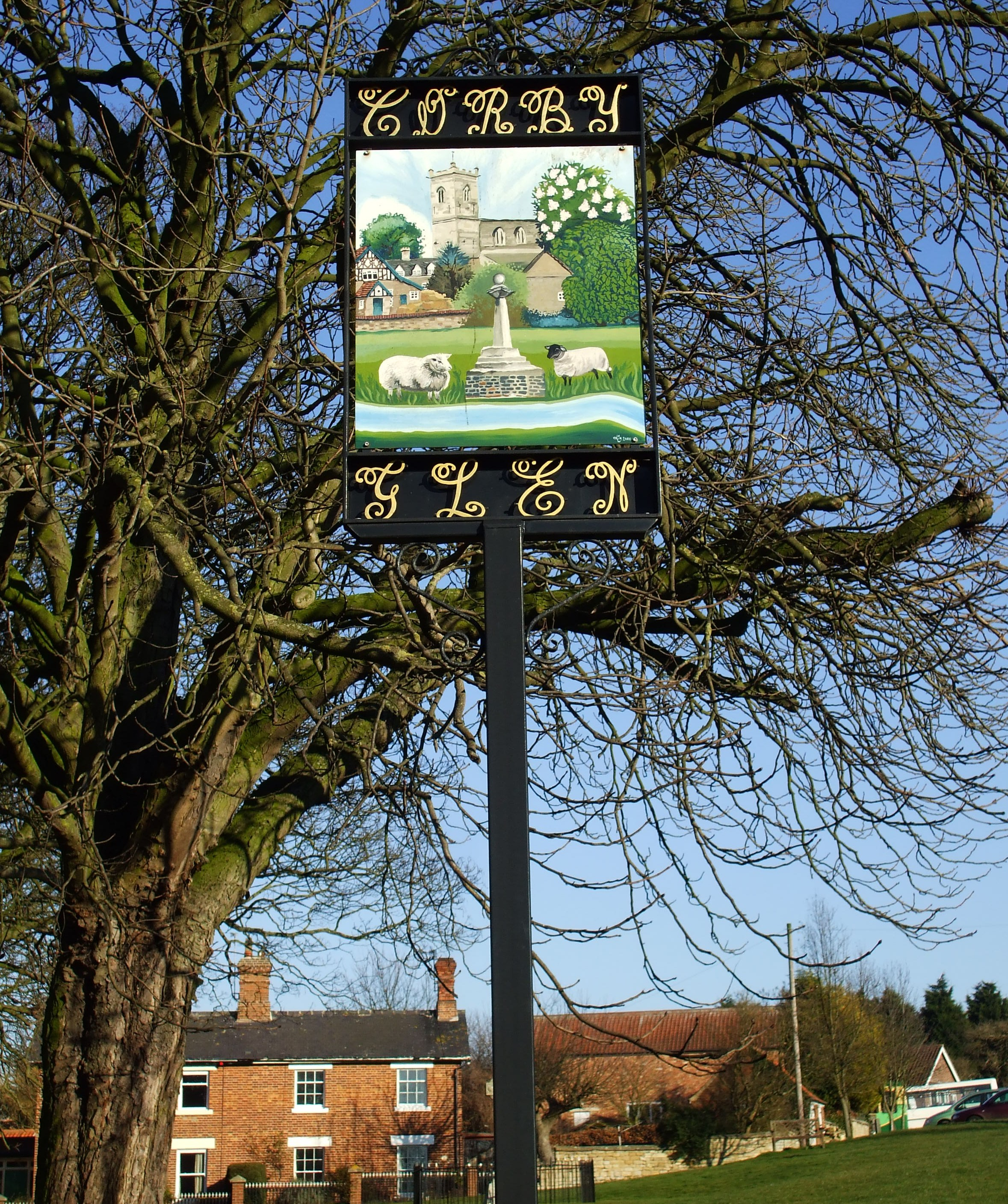 Corby Sign