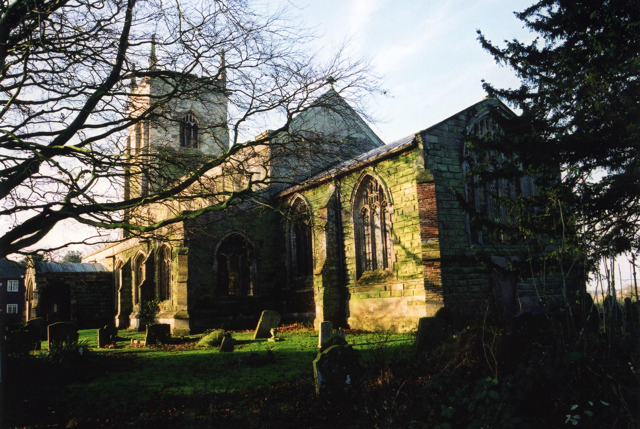 Croft All Saints parish church