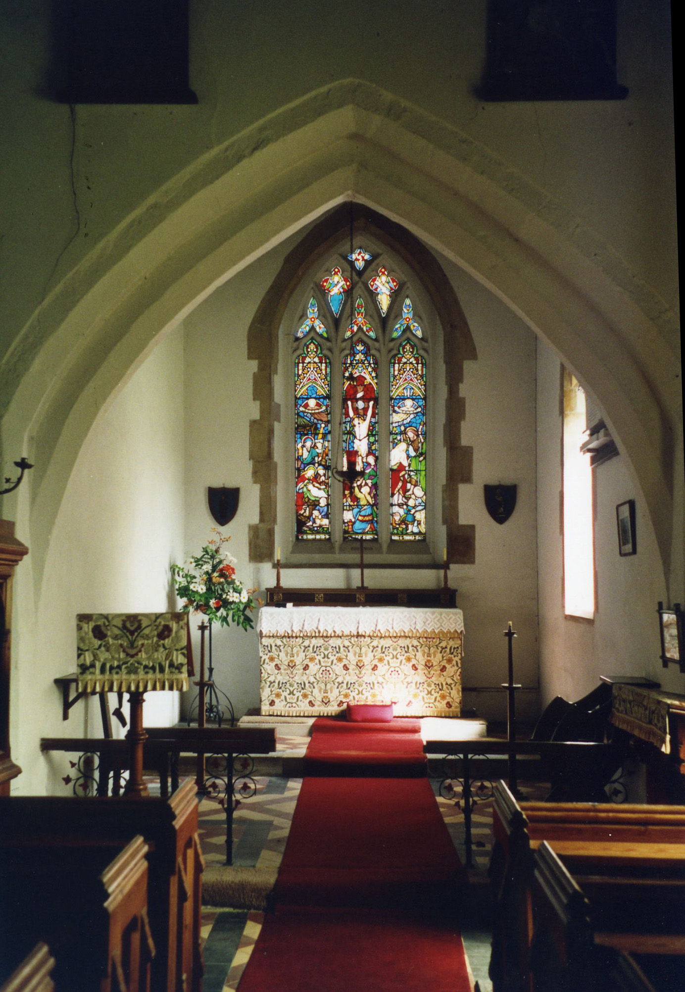 St. Nicholas church nave