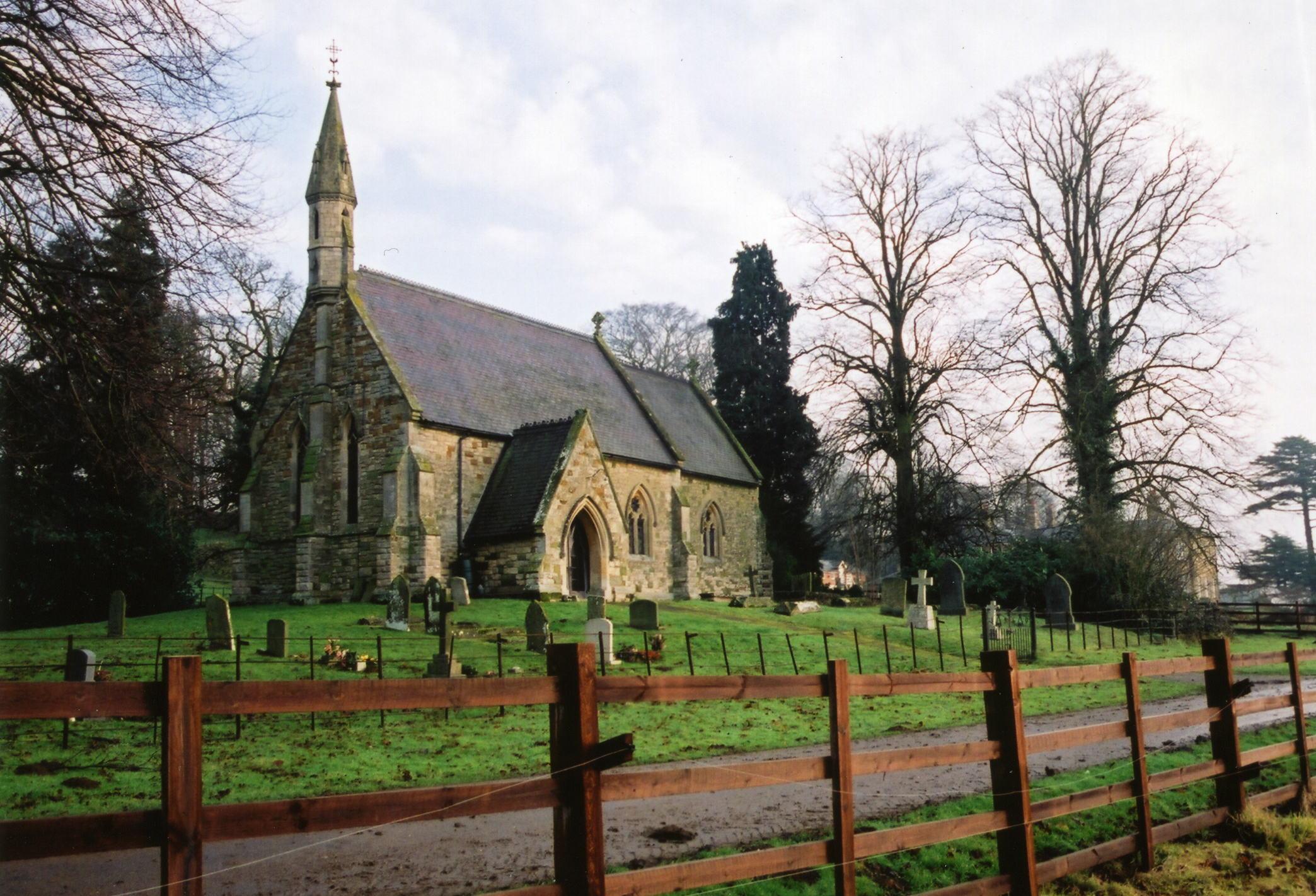 Dalby St. Lawrence parish church