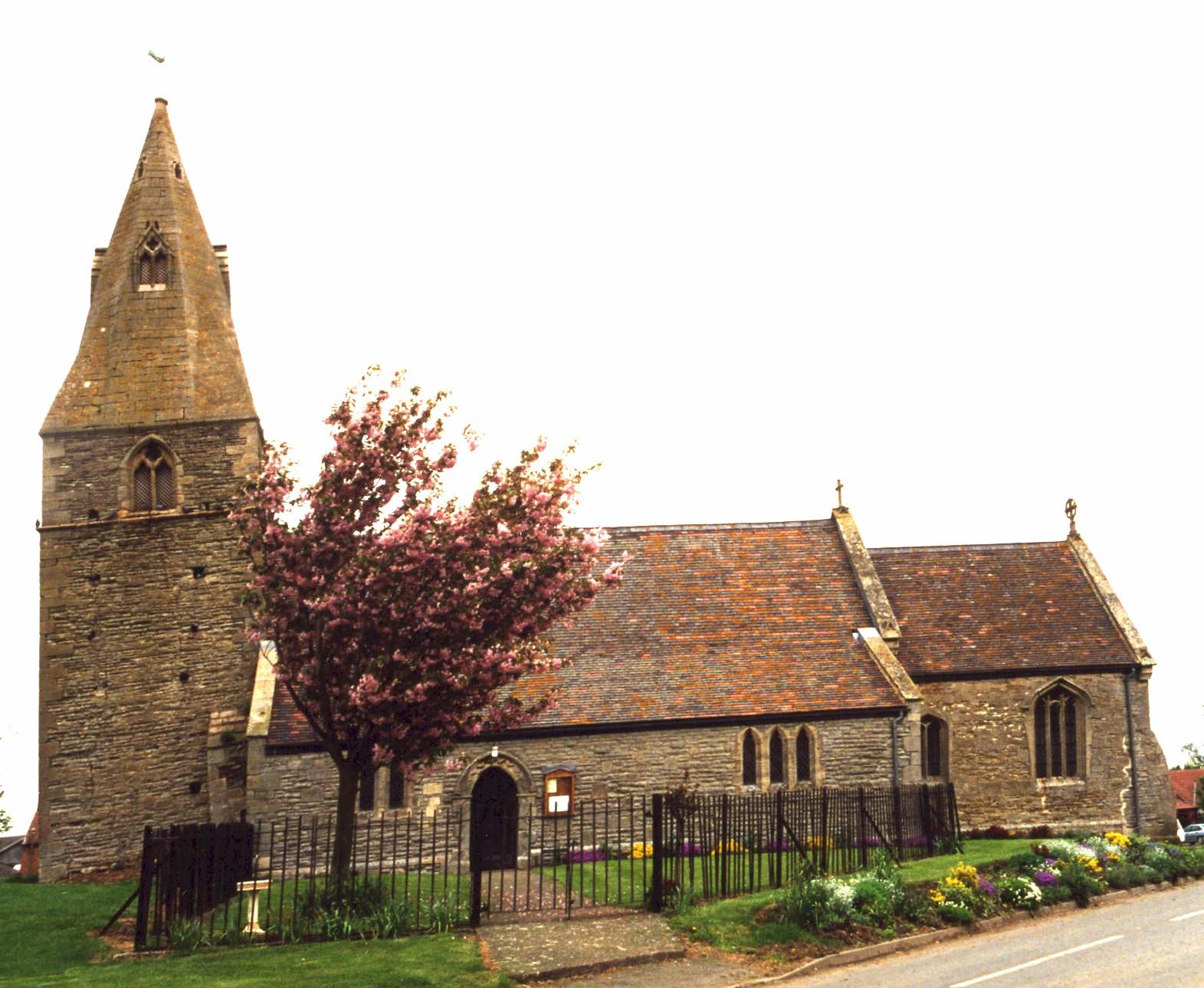 Dry Doddington Saint James church
