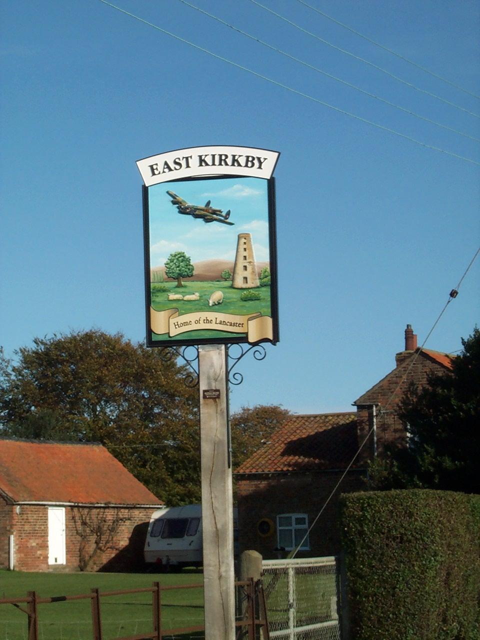 East Kirkby village sign