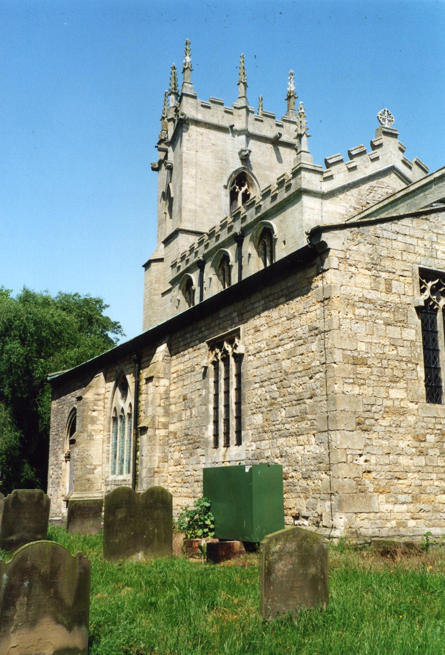 Fiskerton St. Clement church