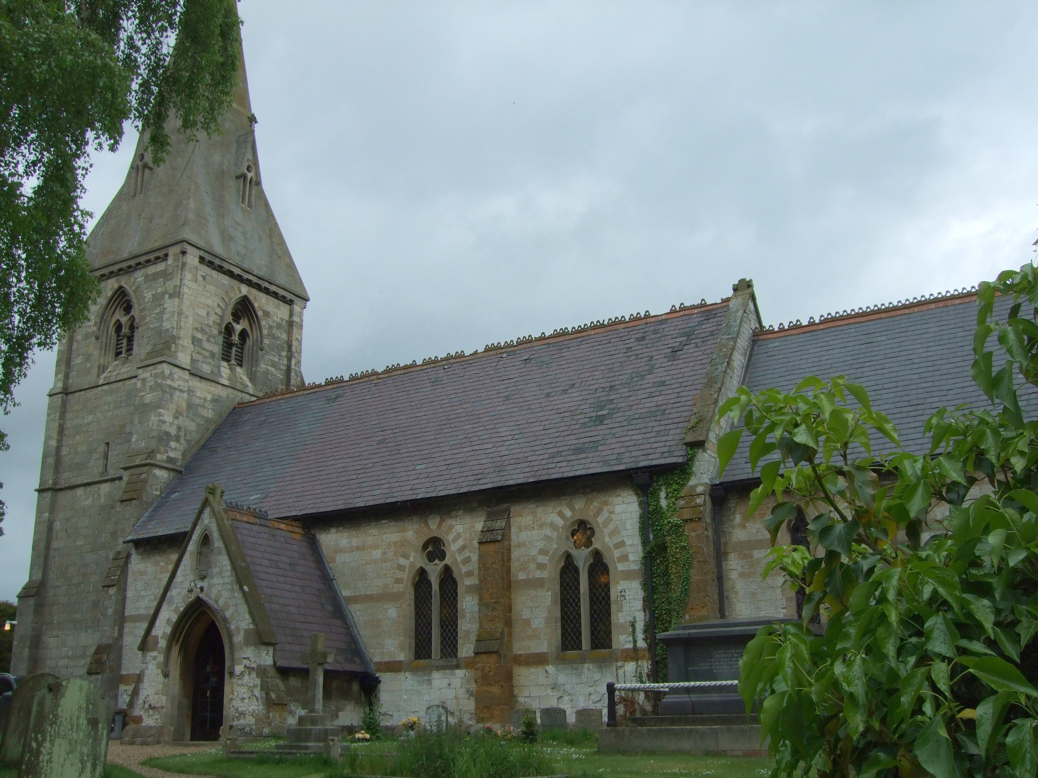 church, no tree