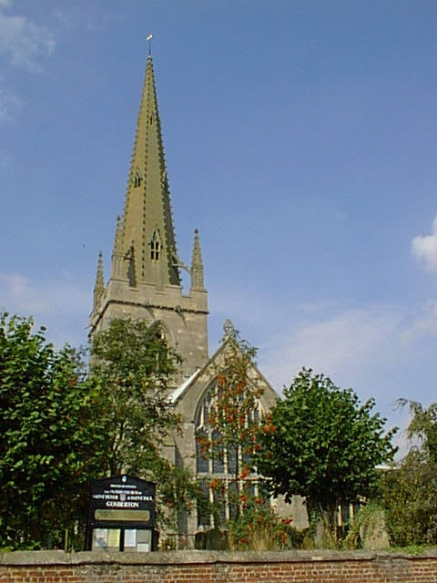 Gosberton church - front