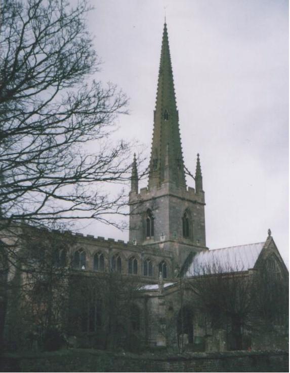 Gosberton parish church