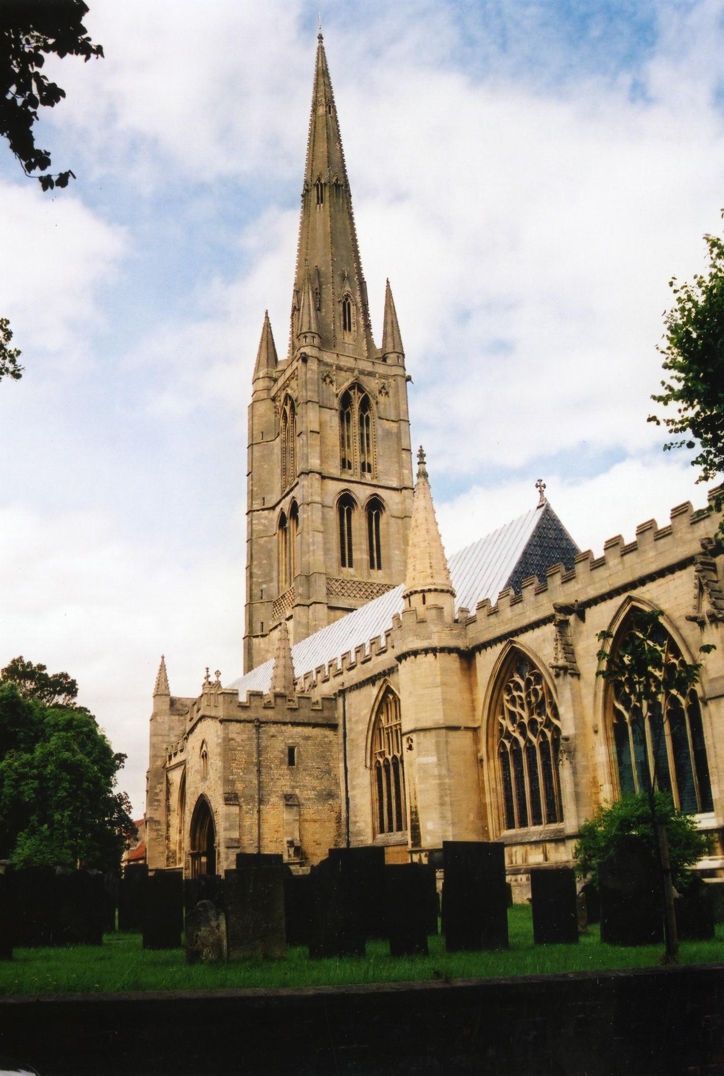 Saint Wulfram's church