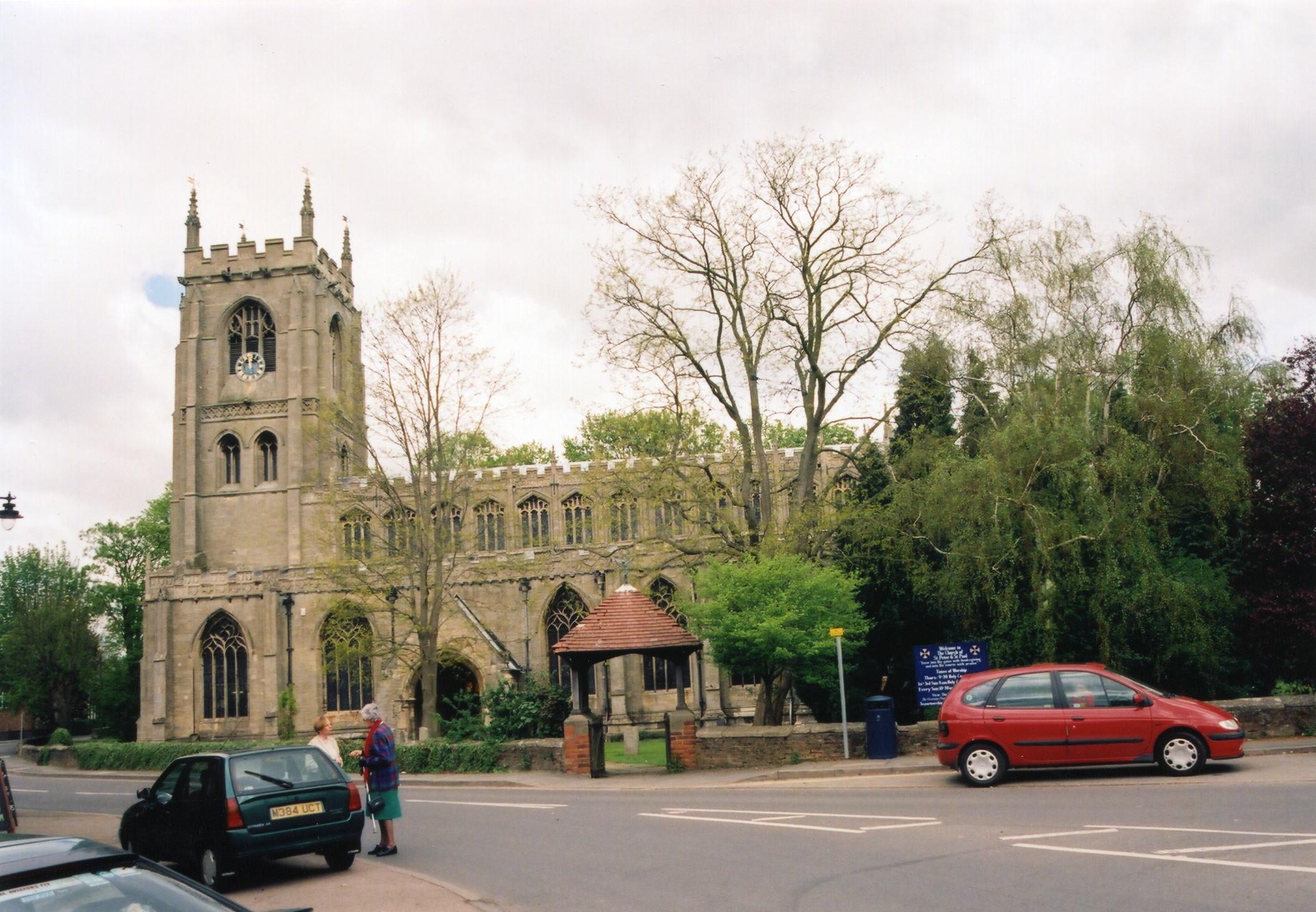 Kirton Saints Peter and Paul parish church