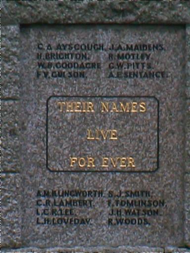 north plaque